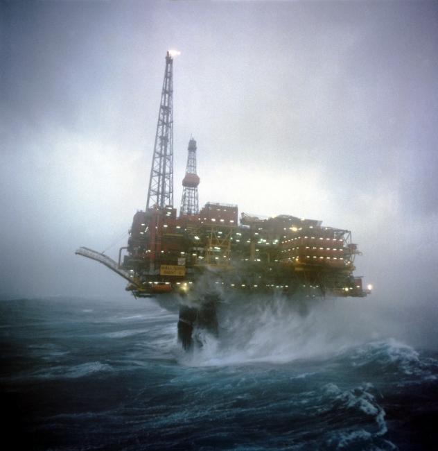 Brent Charlie storm waves