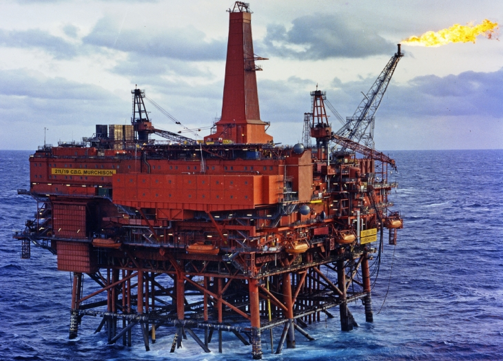 The Murchison oil platform James Fitzpatrick