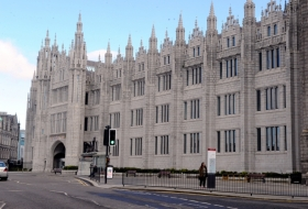 Marischal College, headquarters of Aberdeen City Council