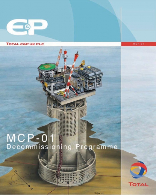 Total E&P MCP-01 Decommissioning Programme
