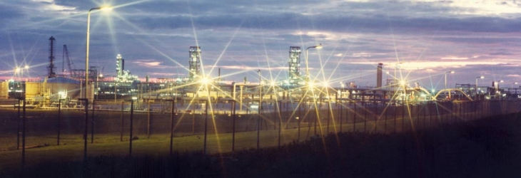 St Fergus gas terminal near Peterhead in Scotland